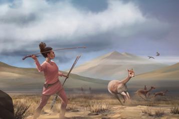 Il y a 9000ans, une chasse égalitaire dans les Andes)