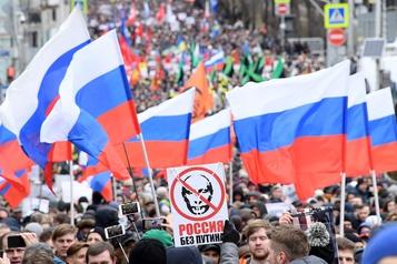 L'opposition défile pour une «Russie sans Poutine»
