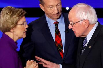 Bisbille post-débat entre Warren et Sanders