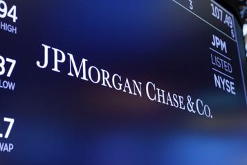 JPMorgan Chase dévoile un bénéfice record au quatrième trimestre)