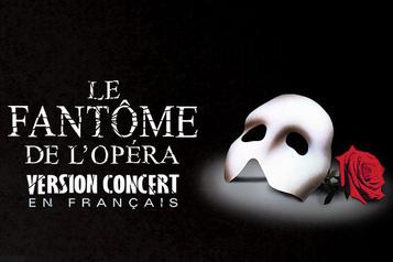 Le fantôme de l'opéra à Montréal et Québec en janvier