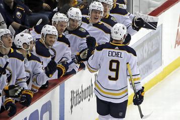Les Sabres battent les Penguins 5-2