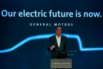 GM débutera la construction d'une camionnette électrique en 2021
