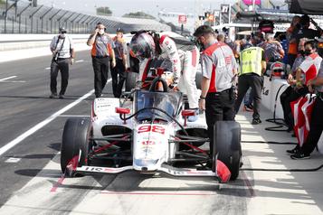 500 Miles d'Indianapolis: Andretti le plus rapide aux essais libres)