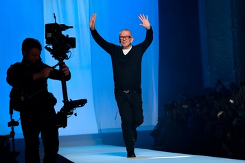 L'enfant terrible de la mode Jean Paul Gaultier tire sa révérence