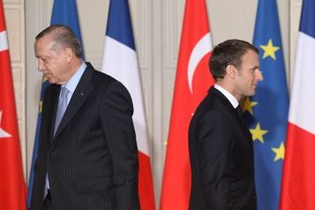 Propos d'Erdogan sur le président français La France rappelle son ambassadeur en Turquie)