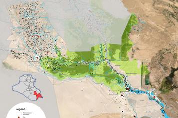 Sécheresse et pénurie d'eau L'Irak obligé de réduire de moitié ses zones cultivées