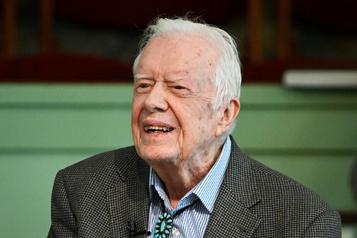 Jimmy Carter hospitalisé après de récentes chutes