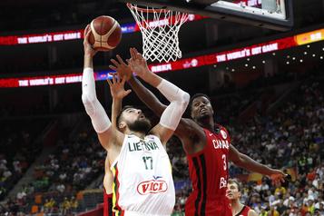 Mondial de basketball: le Canada s'incline face à la Lituanie