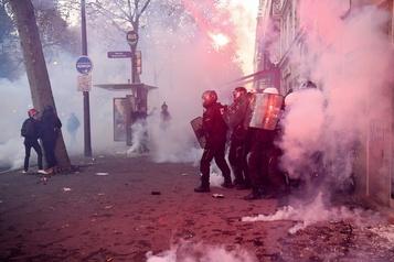 La police française en crise)