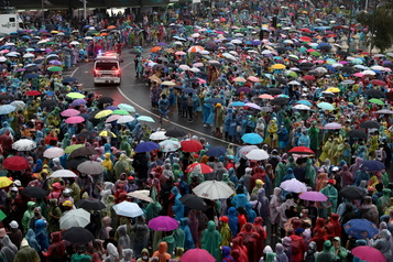 Thaïlande Les manifestants s'inspirent des tactiques fluides de Hong Kong)