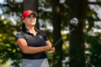 Golf Brigitte Thibault grandit dans l'adversité)