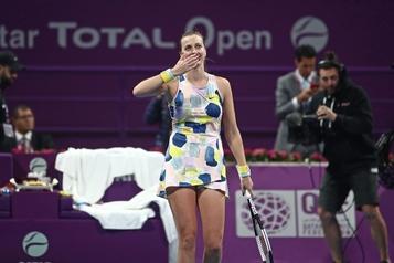 Kvitova défait Barty et passe en finale à l'Omnium du Qatar