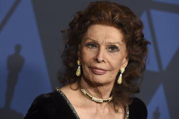 Sophia Loren dans une adaptation du roman La vie devant soi)