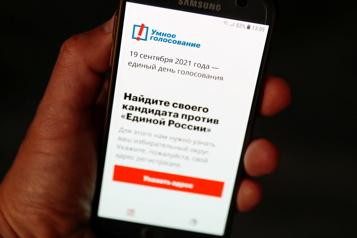 Élections en Russie Google et Apple accusés de «censure» par l'opposition)
