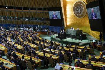Assemblée générale de l'ONU Biden promet une «ère de diplomatie» )