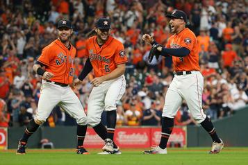 Les Astros mettent la main sur le titre de leur section