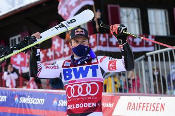 Coupe du monde de ski alpin Alexis Pinturault remporte le slalom géant d'Adelboden)