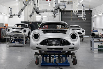 Aston Martin relance la production de sa DB4 GT Zagato