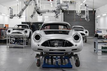 Aston Martin relance la production de sa DB4GT Zagato