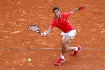 Retour réussi pour Novak Djokovic à Monte-Carlo)