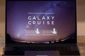 Un projet de « science citoyenne » sous forme de croisière galactique