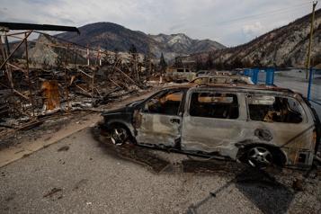 Colombie-Britannique  La tentation de l'abstention pour les évacués des incendies)