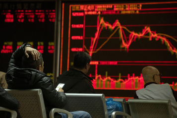 Les Bourses chinoises en repli à l'ouverture, les tensions É.-U.-Iran inquiètent