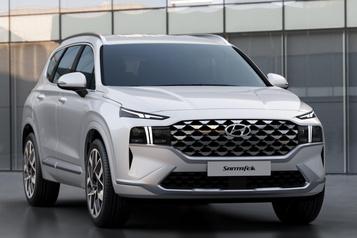 Premier coup d'œil surle nouveau HyundaiSantaFe)