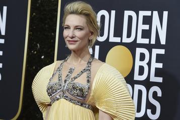 Cate Blanchett victime d'un accident de tronçonneuse)