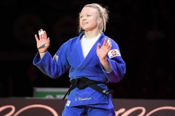 Judo La Canadienne Jessica Klimkait championne du monde)