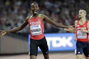 Dopage : introuvable lors de tests, le Kényan Elijah Manangoi, suspendu )