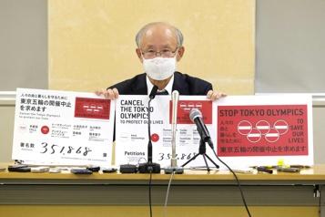 Japon Une pétition pour l'annulation des JO de Tokyo remise aux autorités)