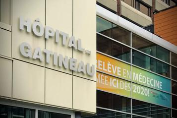 Pause des soins intensifs à l'hôpital de Gatineau)