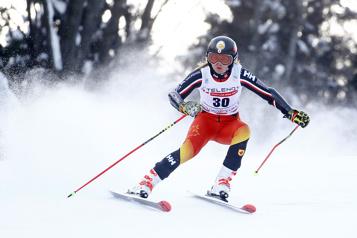 Slalom géant de KranjskaGora Valérie Grenier se démarque à nouveau en Slovénie)