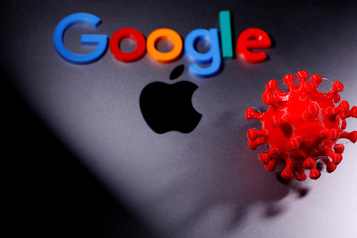 COVID-19: Google et Apple mettent à disposition leur outil de traçage)