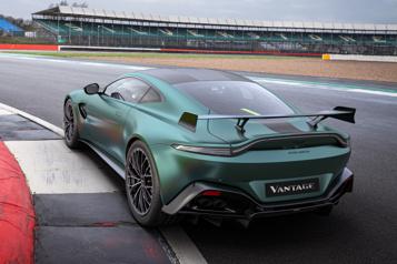 Aston Martin L'Aston Martin VantageF1Edition, une édition très spéciale)