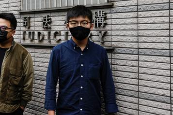 Hong Kong «Peu de chances que je sorte d'ici en homme libre»)