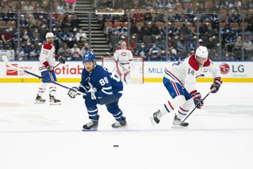 2e entracte Canadien 0- Maple Leafs3)