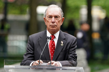 Michael Bloomberg appelle à «battre» Trump en 2020