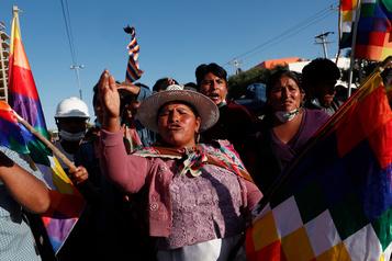 L'«humiliation» cède à la colère en Bolivie