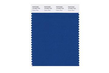 Couleur Pantone2020: le bleu classique, teinterassurante