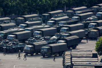 Hong Kong «ne sera pas une répétition» de Tiananmen, selon un journal chinois