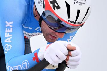 Mondiaux de cyclisme sur route Une journée éprouvante pour Hugo Houle)