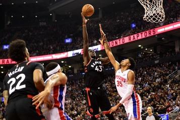 Les Raptors battent les Pistons 125-113