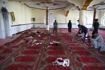 Afghanistan Attentat dans une mosquée près de Kaboul)