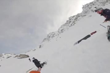 Sauvetage poignant de deux femmes emportées par une avalanche