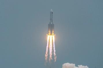 Chute d'une fusée Danger «extrêmement faible» pour la Terre, assure la Chine)