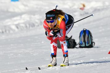 Championnats du monde de ski de fond Katherine Stewart-Jones et Cendrine Browne un peu à court)