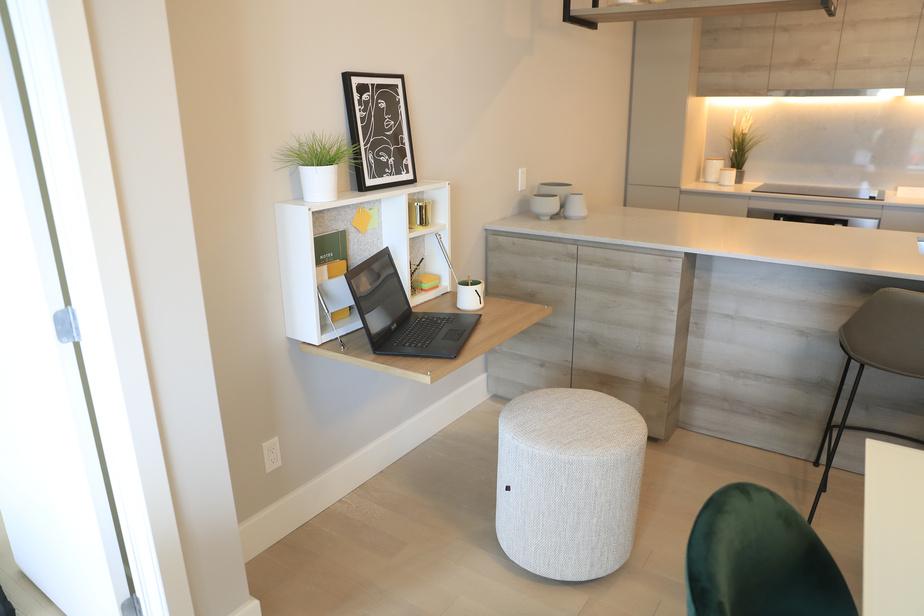 Ce modèle sera intégré dans les plus petits appartements de Devimco Immobilier.